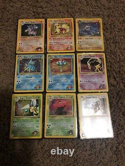 Huge & very rare classic and new Pokemon Cards lot vintage 1990's-2017. Wow look