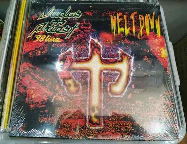 Judas Priest-meltdown'98 Live 3 Lp Ltd Sealed Ripper Halford Cd Shirt Very Rare