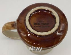 Johnny Carson Tonight Show Coffee Cup Mug Very Rare 1970's MINT