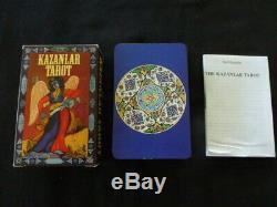 KAZANLAR TAROT, 1996, OOP, Very Rare tarot deck, Unused, MINT Condition