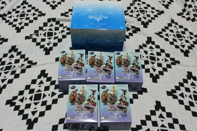Kingdom Hearts 2 Formation Art Vol. 1 Figure Complete Lot 5 Set Very Rare Sora