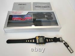 LC Digital Seiko S234-5010 Pulsemeter Very Rare Set Japan 1984 Mint Condition