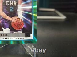 Lamelo Ball 2020-21 Panini Donruss Rated Rookie Green Laser SSP VERY RARE MINT