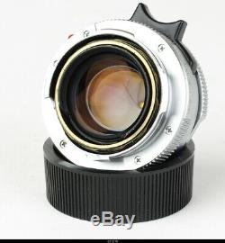 Leica M 2/35mm Summicron-M Silver pre ASPH. Boxed 11311 very RARE MINT