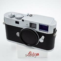 Leica Monochrom CCD Very Rare Silver Chrome 10787 Digital Body Mint- Low Act