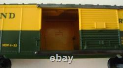 Lionel 6464-300 split door Rutland Boxcar-mint-very rare-reproduction box