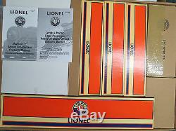 Lionel Very Rare Texas & Pacific Eagle Passenger Set With RS, 6-31919, Mint C-10