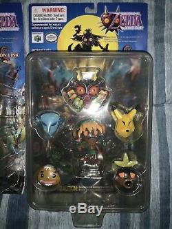 Lot Of 3 VERY RARE Legend Of Zelda Majoras Mask Epoch CWorks Figures NEW
