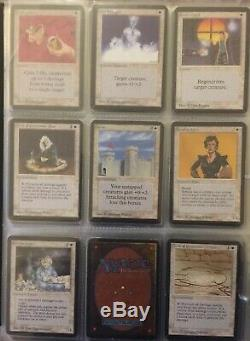 Lot Very Rare Vintage Alpha Magic The Gathering Legacy Old School