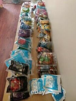 Lot of 109 McDonalds NEOPETS Happy Meal Toys Plushie's 2004 NWT VERY RARE