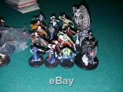 Lot of 157 rare and very rare star wars miniatures, No Duplicates, 46VR and 111R