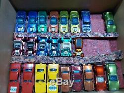 Lot of 55 Vintage Hot Wheels Redline Cars -Very Rare Clean- NM Blister Pulls