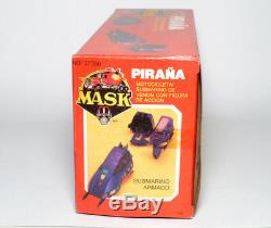 MASK very rare Play Ful Piranha Piraña not Kenner in MIB with figure Mint 1988