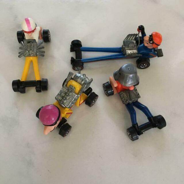Mattel Hot Wheels Red Line Mini Car Minica Farbs Lot 4 Set Complete Very Rare