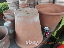 MEGA SANKEY BULWELL, HAND THROWN, Vintage Clay Terracotta pots VERY RARE SIZE