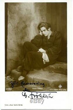 METROPOLIS Fritz Lang 12 vintage film postcards some signed 1927 mint VERY RARE