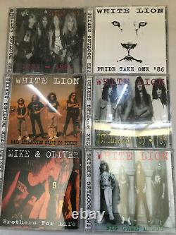MIKE TRAMP The Bootleg Series Box Set CD White Lion VERY RARE! MINT