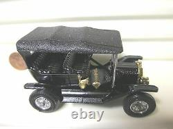 Matchbox Lesney Models Of Yesteryear Very Rare Y1b Black Model T Ford Mint Boxd