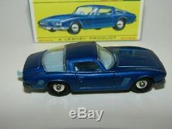Matchbox Regular Wheels No 14 Iso Grifo NMIB Very Rare Original Mint F Box