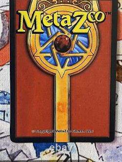 MetaZoo SAMPLE Card BLOODLUST Holo (1 of 100 Made) Very Rare Near Mint