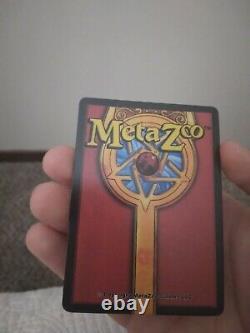 MetaZoo SAMPLE Card HODAG Holo (1 of 100 Made) Very Rare Near Mint