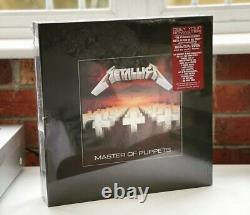 Metallica Master Of Puppets Rare Deluxe Box Unopened Mint & Very Rare