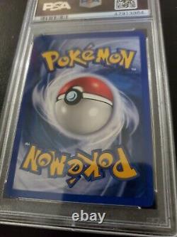 Mewtwo 1999 Pokemon base set holo SHADOWLESS very RARE PSA Mint 9