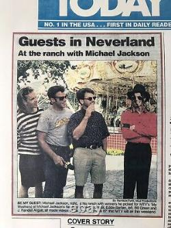 Michael Jackson Autographed Neverland Valley Lot Exclusive & Very RARE! 1993