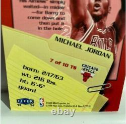 Michael Jordan 97-98 Fleer Thrill Seekers #7 insert Very Rare Mint Condition