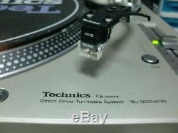 Mint Technics Quartz D. Drive SL1200 MK-3D Shure M44G turntable Very Rare