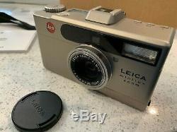 MintLeica Minilux Zoom Film Camera Original Packaging + Very Rare Accessories