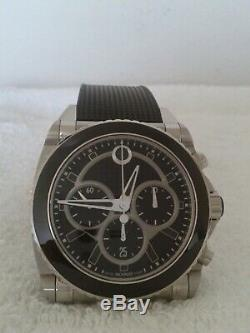 Movado Master Chronograph Automatic Men's Watch Very Rare Mint Condition