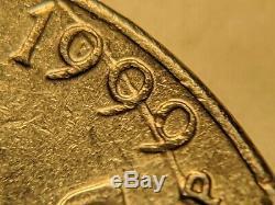 Mules Wrong Anvil Die US Mint Error 1999-P Jefferson Nickel Very RARE