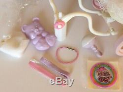 My little pony g1VERY RARE MIO MINI PONY ITALY VARIANT BABY BUGGYCOMPLETE/MINT
