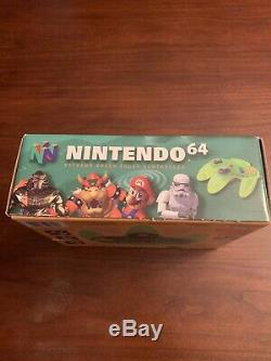 N64 Limited Edition Exteme Green Lime Neon Controller. Mint In Box. Very Rare