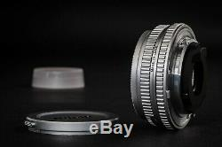 Nikon Nikkor 45mm 2.8 P Pancake Near Mint Silver Very Rare Lens AIS