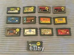 Nintendo Game Boy Advance GBA Lot 13 games including VERY rare Ninja Five-O
