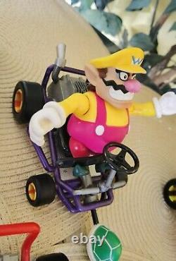 Nintendo Mario Kart 64 Toybiz (VERY RARE) 6 Figures Lot. From 1999 (READ DESC.)