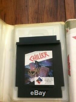 Nintendo NES Unlicensed HES games lot CIB Very Rare! Chiller, Duck Maze, R. B. I
