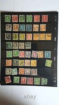 OLD OLD OLD US STAMPS VERY RARE COLLECTION Lot#2