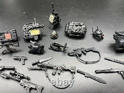 Original vintage G. I. GI JOE gijoe NIGHT FORCE WEAPON Accessories Lot VERY RARE