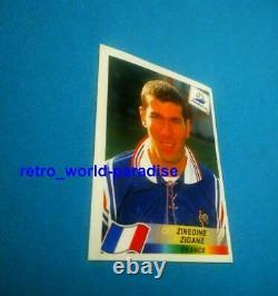 PANINI 1998 /1999 world cup 98 FRANCE 98 ZIDANE 98 PSA 9 PSA 10 VERY RARE