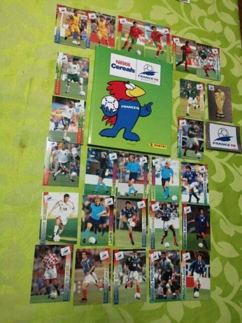 Panini Fifa World Cup France 98 1998 Nestle Album 99% Complete/ Very Rare Item