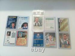 PANINI ZIDANE VERY RARE SET OF 10 CARDS NEAR MINT CONDITION 1996 to 2004 psa