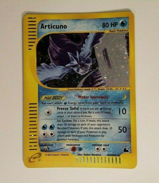 Pokemon Skyridge Articuno H3/h32 Holo Super Mint! Psa10 So Rare! Very Htf