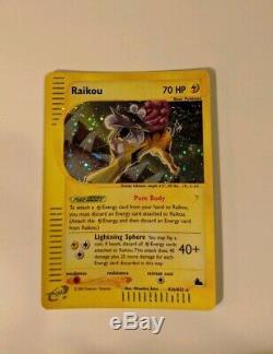 POKEMON SKYRIDGE RAIKOU H26/H32 HOLO MINT, MINT, MINT! 2003 Rare Very HTF