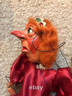 Pelham puppet SL Type Cinderella Ugly Sister Unused In Mint box In Red. Very Rare
