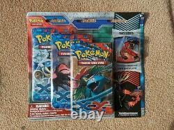Pokemon Sealed 3 Pack Pin Blisters Yveltal XY Base Set Very Rare (Lot 1)