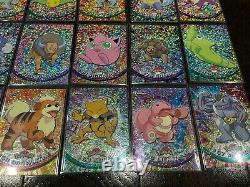 Pokemon Topps Chrome Sparkle Lot Of 28 Cards! Very Rare Vintage Pokemon Cards