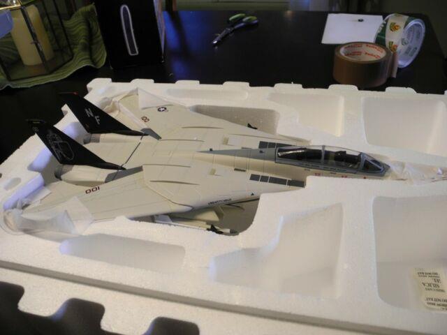 Reduced Franklin Mint / Armour F-14 Tomcat, Knight, 1/48 Scale, Very Rare! , Nib